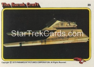Star Trek The Motion Picture Colonial Bread Trading Card 23