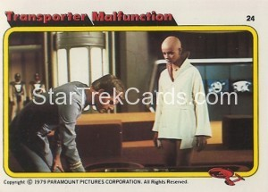 Star Trek The Motion Picture Colonial Bread Trading Card 24