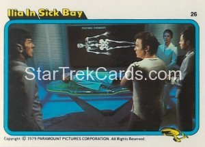 Star Trek The Motion Picture Colonial Bread Trading Card 26