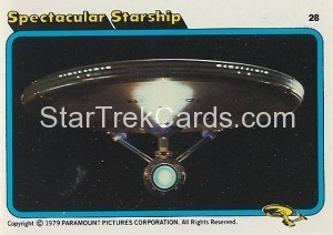 Star Trek The Motion Picture Colonial Bread Trading Card 28