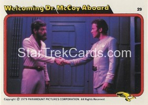 Star Trek The Motion Picture Colonial Bread Trading Card 29