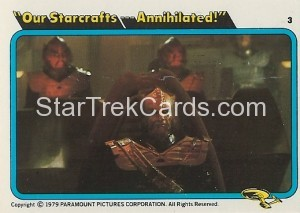 Star Trek The Motion Picture Colonial Bread Trading Card 3