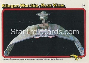 Star Trek The Motion Picture Colonial Bread Trading Card 30