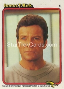 Star Trek The Motion Picture Colonial Bread Trading Card 5