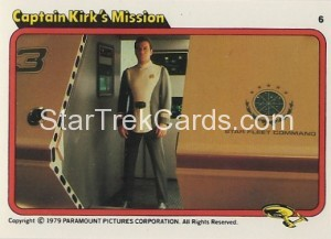 Star Trek The Motion Picture Colonial Bread Trading Card 6