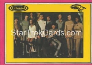 Star Trek The Motion Picture Colonial Bread Trading Card Back 14