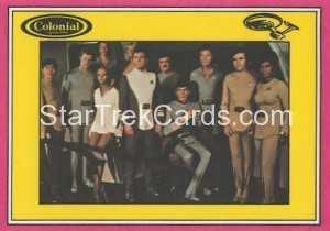 Star Trek The Motion Picture Colonial Bread Trading Card Back 15