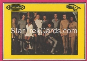 Star Trek The Motion Picture Colonial Bread Trading Card Back 17