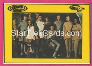 Star Trek The Motion Picture Colonial Bread Trading Card Back 24