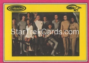 Star Trek The Motion Picture Colonial Bread Trading Card Back 26