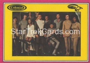 Star Trek The Motion Picture Colonial Bread Trading Card Back 27