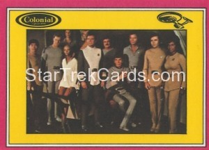 Star Trek The Motion Picture Colonial Bread Trading Card Back 29