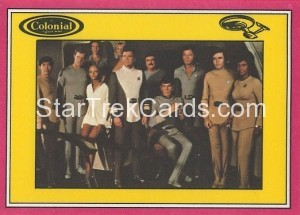 Star Trek The Motion Picture Colonial Bread Trading Card Back 6