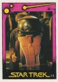 Star Trek II The Wrath of Khan Monty Gum Trading Card 14
