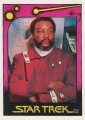 Star Trek II The Wrath of Khan Monty Gum Trading Card 22