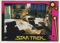Star Trek II The Wrath of Khan Monty Gum Trading Card 27