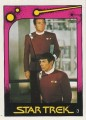 Star Trek II The Wrath of Khan Monty Gum Trading Card 3