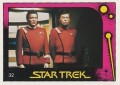 Star Trek II The Wrath of Khan Monty Gum Trading Card 32