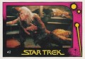 Star Trek II The Wrath of Khan Monty Gum Trading Card 42