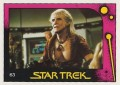 Star Trek II The Wrath of Khan Monty Gum Trading Card 63