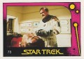 Star Trek II The Wrath of Khan Monty Gum Trading Card 73