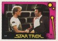 Star Trek II The Wrath of Khan Monty Gum Trading Card 77