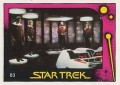 Star Trek II The Wrath of Khan Monty Gum Trading Card 83