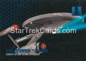 30 Years of Star Trek Phase One Trading Card 01
