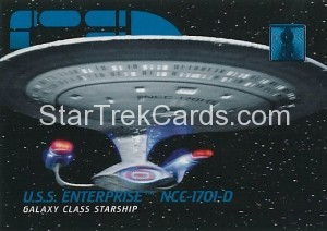 30 Years of Star Trek Phase One Trading Card 05