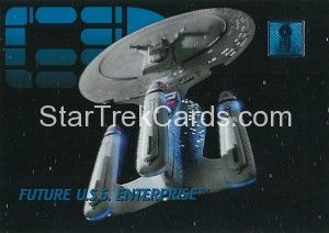 30 Years of Star Trek Phase One Trading Card 06