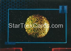 30 Years of Star Trek Phase One Trading Card 07
