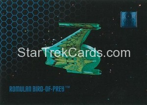 30 Years of Star Trek Phase One Trading Card 08
