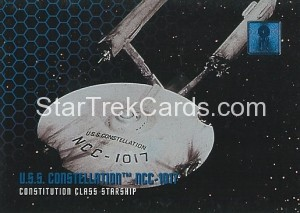 30 Years of Star Trek Phase One Trading Card 13