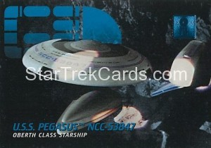 30 Years of Star Trek Phase One Trading Card 44
