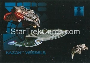 30 Years of Star Trek Phase One Trading Card 54