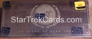 30 Years of Star Trek Phase One Trading Card Box Top
