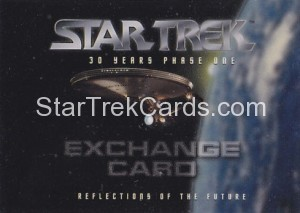 30 Years of Star Trek Phase One Trading Card Exchange Card