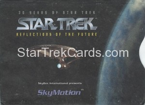 30 Years of Star Trek Phase One Trading Card SkyMotion Sleeve