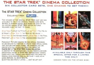 30 Years of Star Trek Phase One Trading Card T195