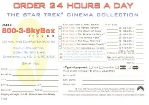 30 Years of Star Trek Phase One Trading Card T195 Back