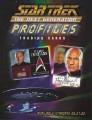 Star Trek The Next Generation Profiles Trading Card Sell Sheet Front