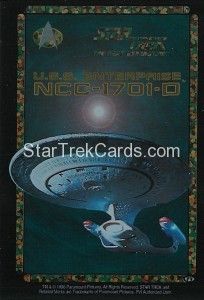 Star Trek Vending U.S.S. Enterprise NCC 1701 D Gold Script