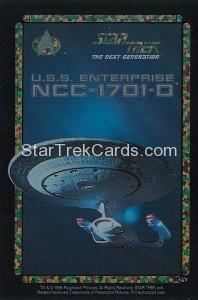 Star Trek Vending USS Enterpris Silver Script