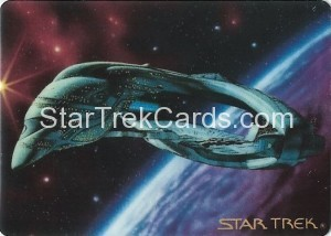 Star Trek The Voyagers Card Collection Trading Card Romulan Warbird