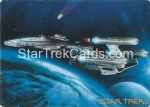 Star Trek The Voyagers Card Collection Trading Card Triple Nacelled USS Enterprise