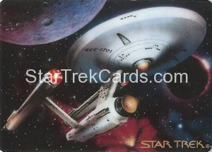 Star Trek The Voyagers Card Collection Trading Card USS Enterprise NCC 1701