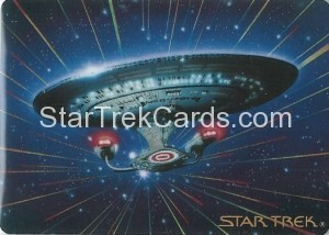 Star Trek The Voyagers Card Collection Trading Card USS Enterprise NCC 1701 D
