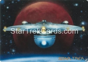 Star Trek The Voyagers Card Collection Trading Card USS Excelsior