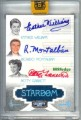 2008 Americana Celebrity Cuts Stardom Triple Signatures Ricardo Montalban Esther Williams Betty Garrett Front