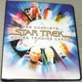 The Complete Star Trek Movies Trading Card Binder Front